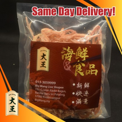 鱿鱼丝(辣味) Squid Shreds (Spicy)    100g